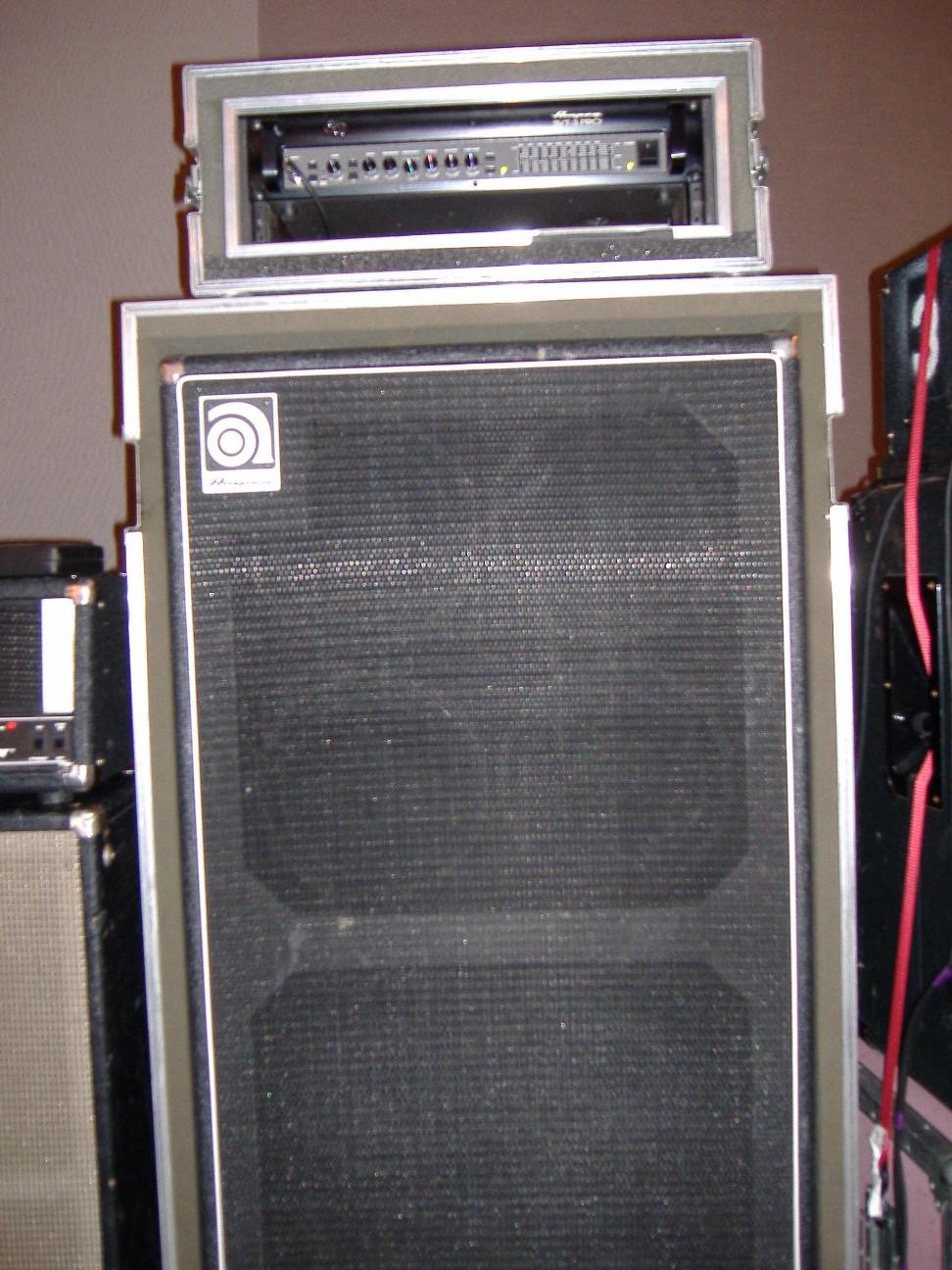 Ampeg Svt 3 Pro Head W Ampeg Classic Svt810e 8x10 Quot Cab