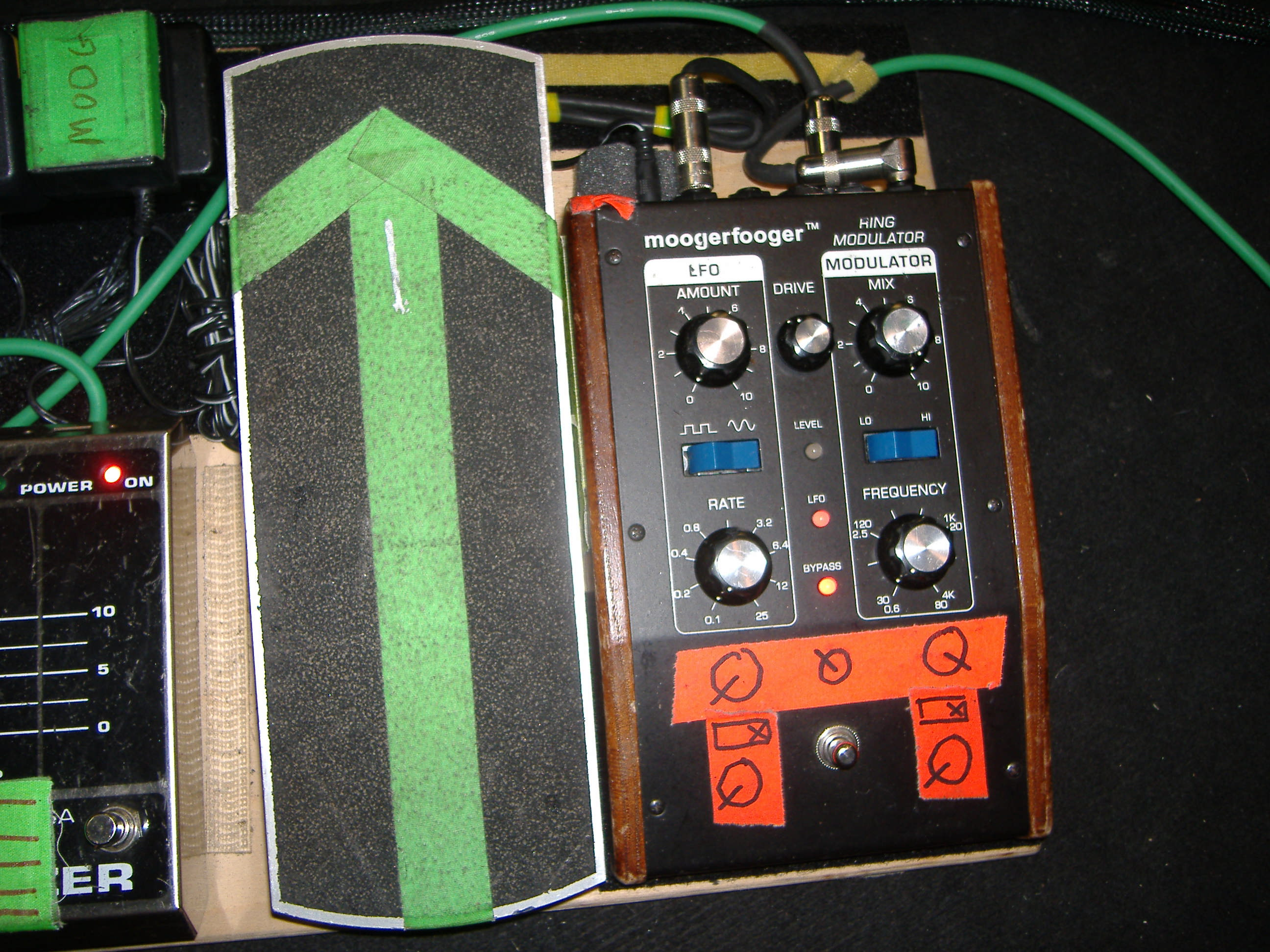 Lee Ranaldo Heres A Closeup Of The Wah Circuit Expression Pedal Ring Mod
