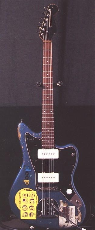 sonic youth gear guide fender jazzmaster blue