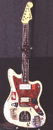 Sonic Youth Gear Guide  Fender Jazzmaster  White