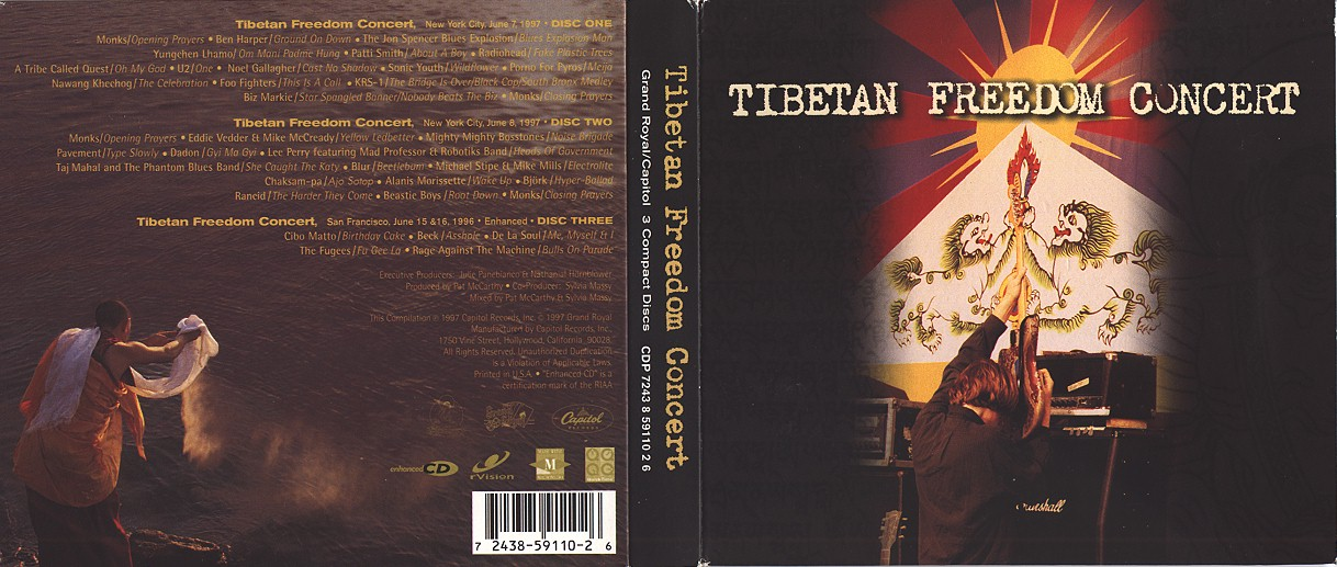Sonicyouth Discography Compilation Tibetan Freedom Concert