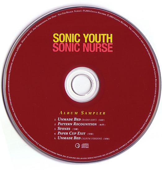 Sonicyouth Com Discography Sonic Nurse Album Sampler