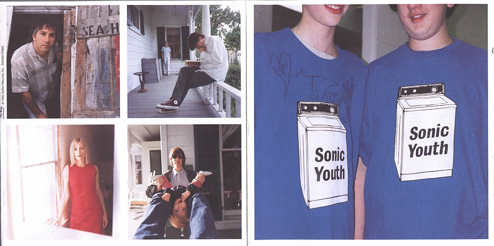 sonic youth washing machine lp