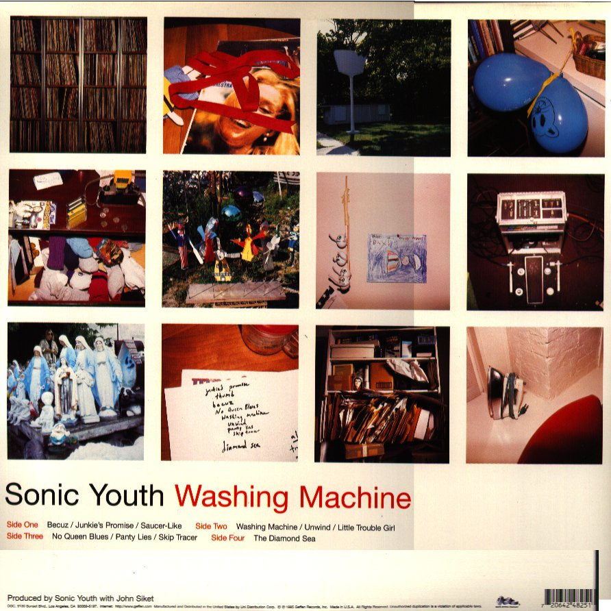 Sonicyouth Com Discography Album Washing Machine