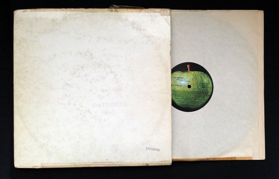 LR's White Album, purchased Christmas-time 1968.